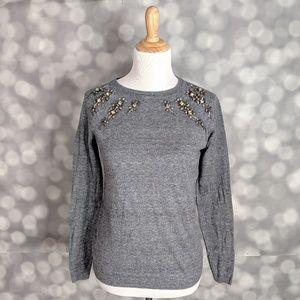 Loft Embellished Sweater